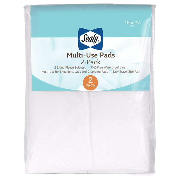 Sealy Multi-Use Pads, 2 Pack