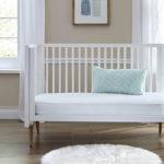 Sealy Baby Stargazer 2-Stage Crib and Toddler Mattress - Tivoli Mint and White